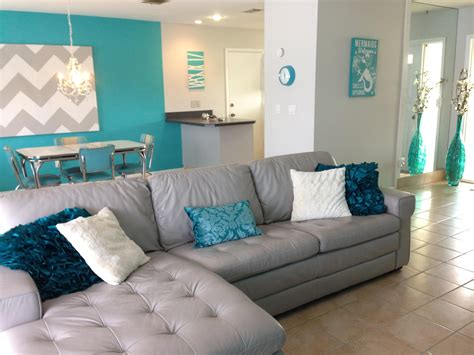teal livingroom florida home house leather