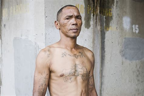 prison tattoo numbers tattoos that marked them with respect inside prison left