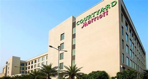 courtyard the marriott property opens in the home city of