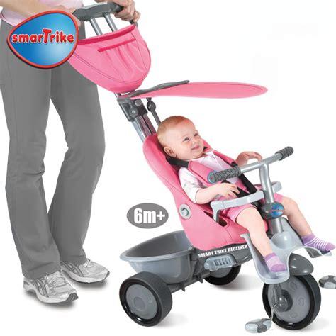 Pink Smart Trike Recliner by Smart Trike Recliner 4 In 1