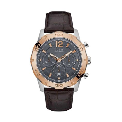 Jam Tangan Wanita Sport Guess Crhono On Stainless Steel 2 jual guess w0864g1 jam tangan pria silver harga