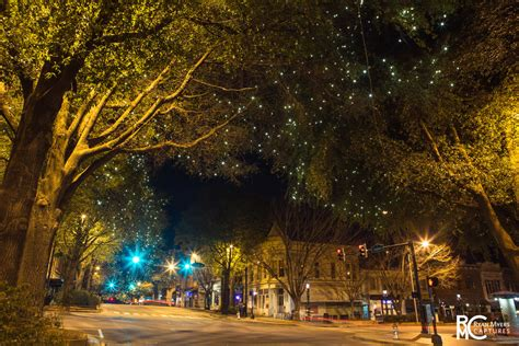 downtown athens christmas lights ryan myers captures