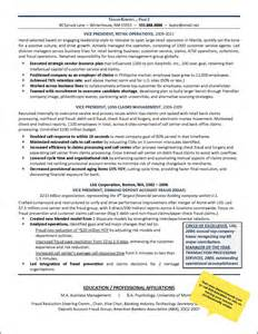 Resume Sles For Call Center by Resume Exle Call Center