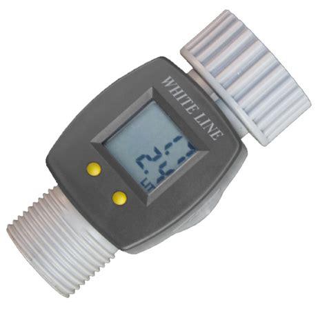 Garden Hose Flow Meter Digital Electronic Water Smart Flow Meter For Garden Hose