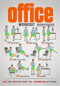 Office Chair Ab Workout 25 Best Ideas About Office Workouts On