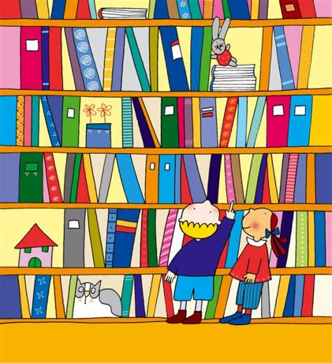 imagenes para bibliotecas escolares dibujos animados de biblioteca imagui