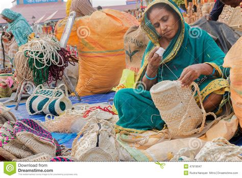 Handcrafted In India - handmade jute bags indian handicrafts fair at kolkata
