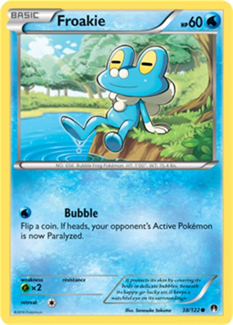 Kartu Trading Card Water X And Y Froakie Dkk froakie breakpoint card review primetime s