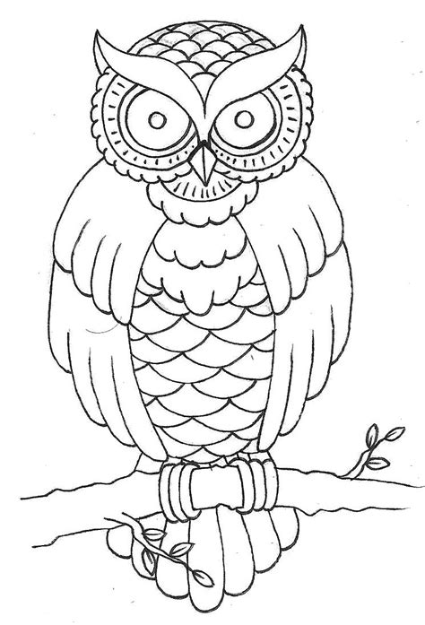 owl outline tattoo owl outline drawing at getdrawings free for personal