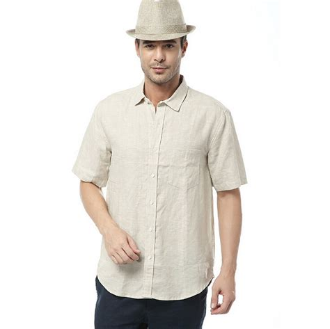 2015 new brand dress shirts 2015 new arrival summer style brand size s 100 linen shirts sleeve casual shirts