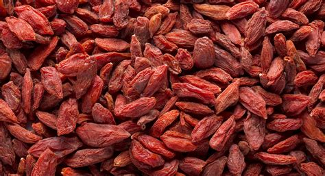Goji Berry believe it or not tiny goji berries are a complete protein thrive market