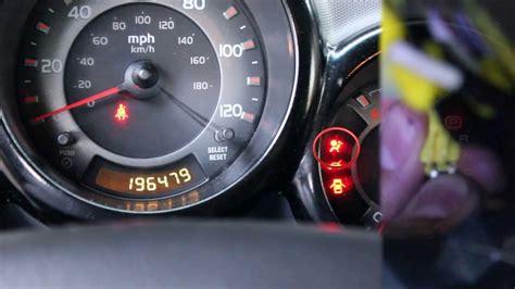 srs light honda accord image gallery honda airbag light on