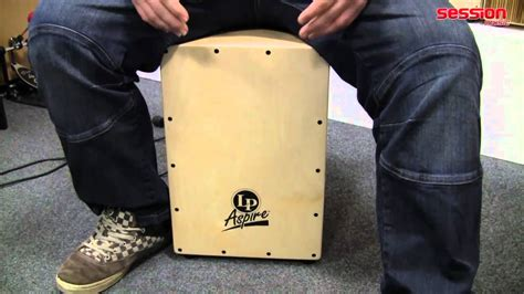 cajon translation lp latin percussion lpa1331 aspire cajon youtube
