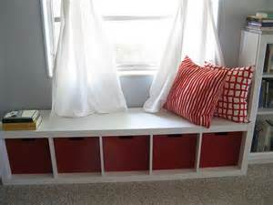 Ikea Window Seat by Ikea Bookshelf Turned Sideways For A Window Seat Home