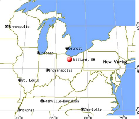 willard ohio map willard ohio oh 44890 profile population maps real