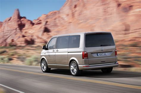 volkswagen multivan volkswagen officially reveals transporter t6 van line
