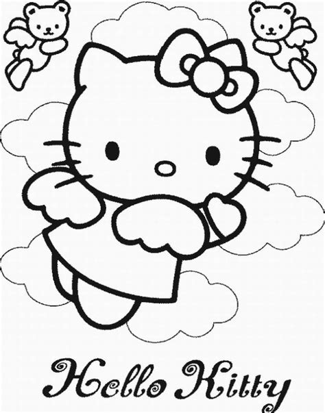 Printable Hello Kitty Coloring Pages Coloring Me Free Coloring Sheets For Free