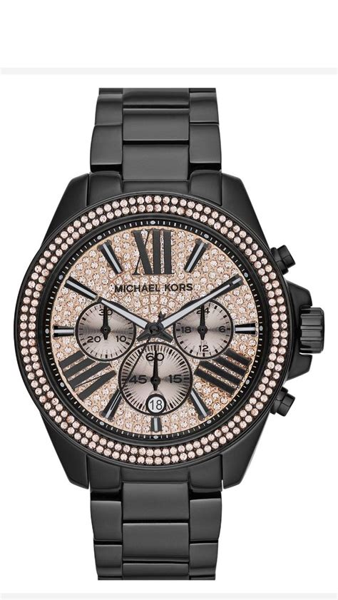 Michael Kors Mk032 Rosegold C michael kors black my style gold watches black and in
