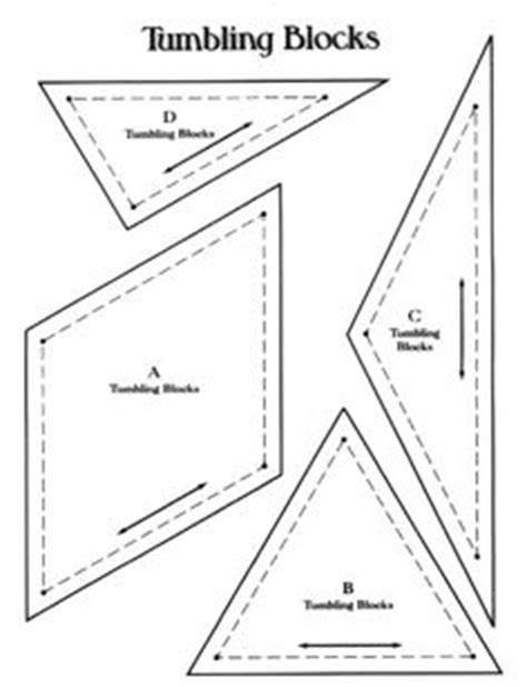 triangle pattern block templates pattern for quilting 3 hexagon and triangle mate