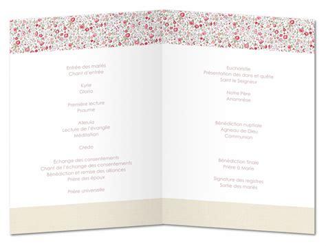 Modèle Livret De Messe Mariage mod 232 le livret de messe mariage gratuit og36 jornalagora