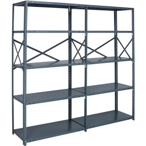quantum heavy duty 18 gauge industrial steel shelving 5