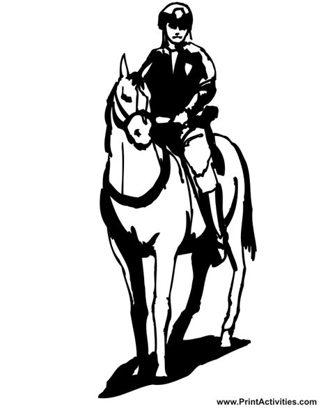 horse trainer coloring page police officer coloring pages clipart panda free