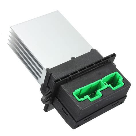 heater resistor location renault modus 2x heater blower motor resistor for renault megane modus scenic twingo q4 ebay