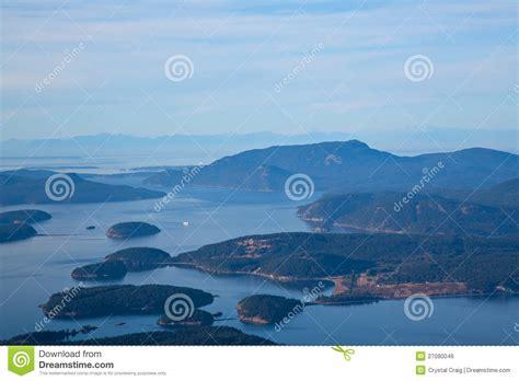 trump island san juan islands washington state royalty free stock image