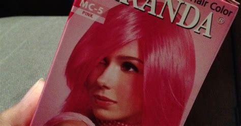 Semir Rambut Miranda Hair Color lailatul januar f h review miranda hair color pink