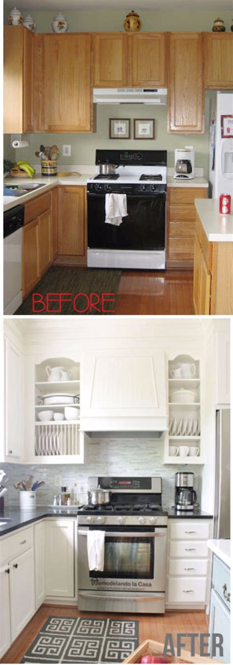 Cheap Kitchen Cabinet Makeover 37 Brilliant Diy Kitchen Makeover Ideas Page 3 Of 8 Diy
