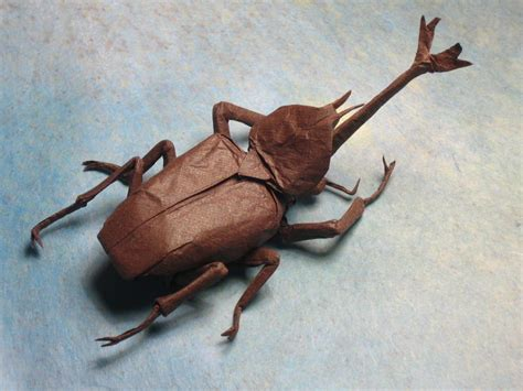 Origami Beetle - brian chan s origami gallery