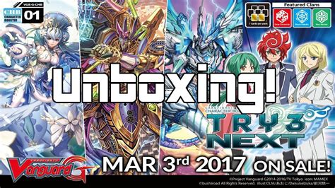 Booster Vanguard G Chb01 Eng g chb01 try3 next booster set unboxing cardfight