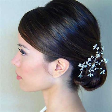 Asian Wedding Hairstyles For Medium Hair by Best Hair Updos For Medium Length Hair Hairstyles