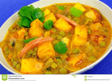 is cottage cheese vegetarian vegetarian cottage cheese curry royalty free stock photos