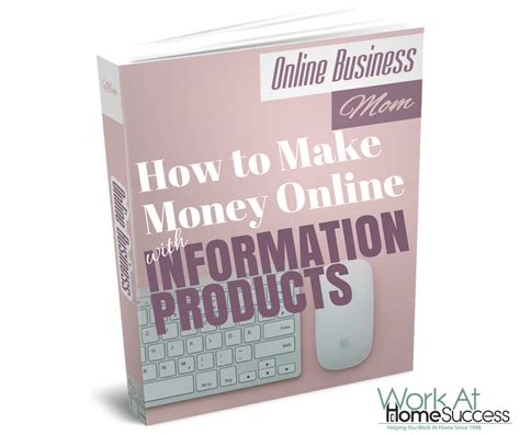 Make Money Online Products - how to make money online with info products