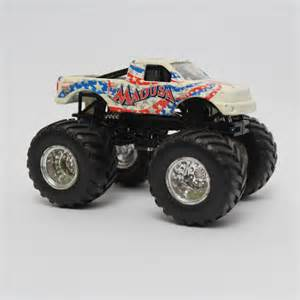 Jam Trucks Wheels Toys Wheels Jam White Blue Madusa 3 1 2