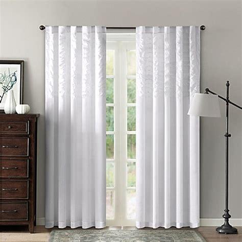 42 inch curtains buy aria 42 inch x 84 inch window curtain panel in grey