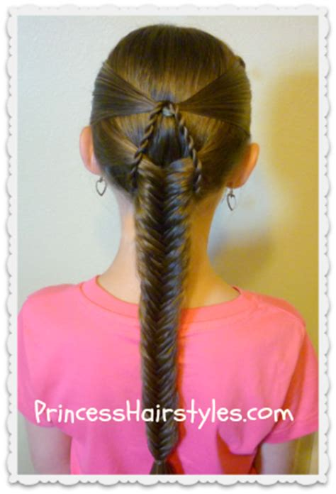 how to do hard hairstyles quot suspended fishtail quot braided hairstyle princess hairstyles