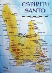 santo map santo island dive luganville espiritu santo vanuatu