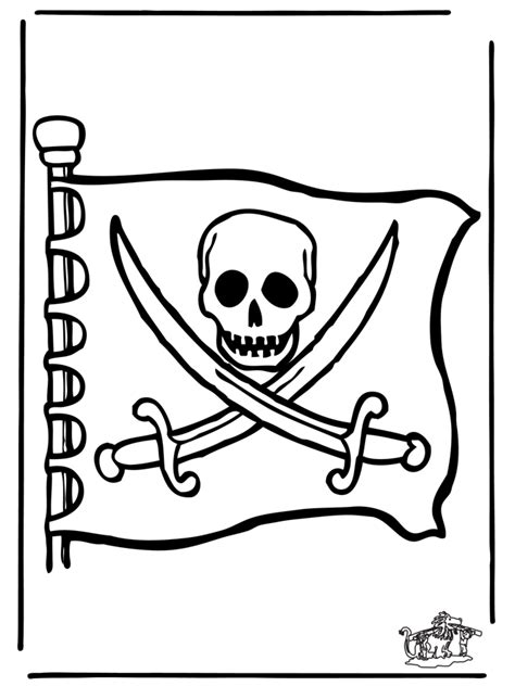 piraten flagge ausmalbilder uebriges
