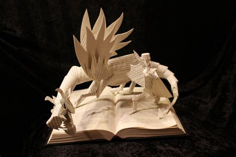 Origami Pop Up Book - origami pop up adventure books book sculpture