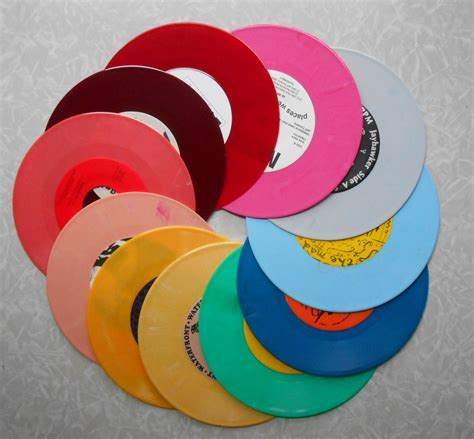 Vinyl Record Nursery Mobile   Colored Vinyl Records For Sale