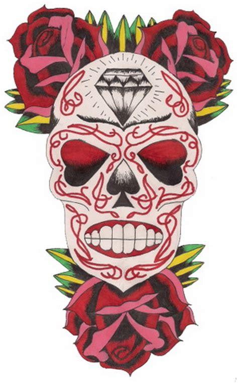 day of the dead sugar skull tattoo designs sugar skull tattoos for day of the dead