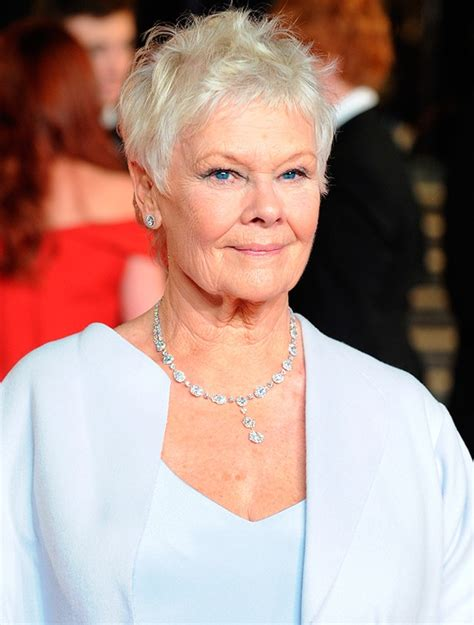 judi bench short hairstyles judi dench pictures short hairstyle 2013