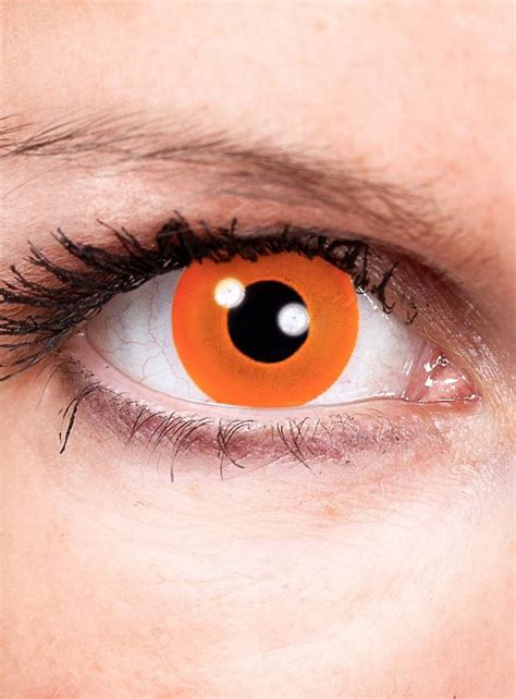 special effects color contacts orange special effect contact lens maskworld
