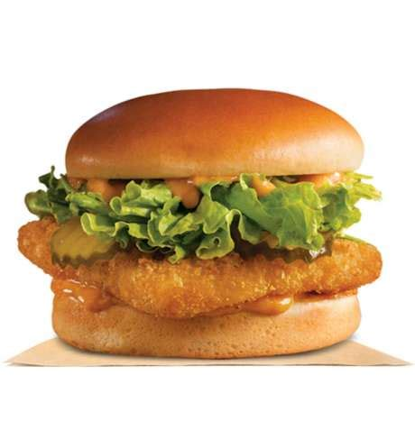 Todays Special Spicy Snapper Sandwiches by Bk S Big Fish Sandwich Gets A Touch Spicy Houston Chronicle