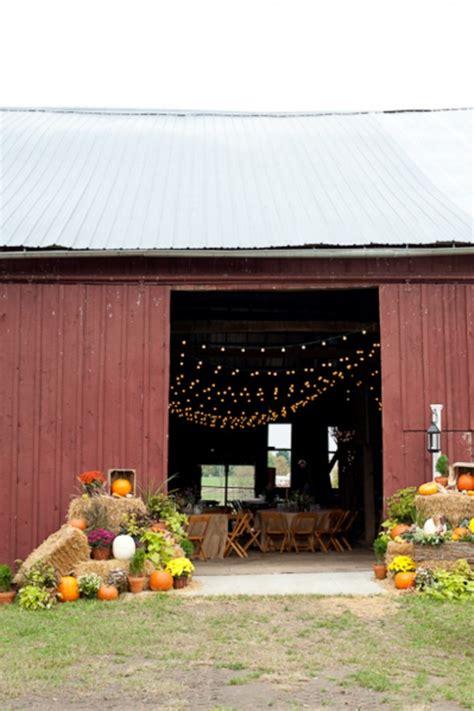 Fall Barn Wedding fall wedding ideas for a rustic wedding rustic wedding chic