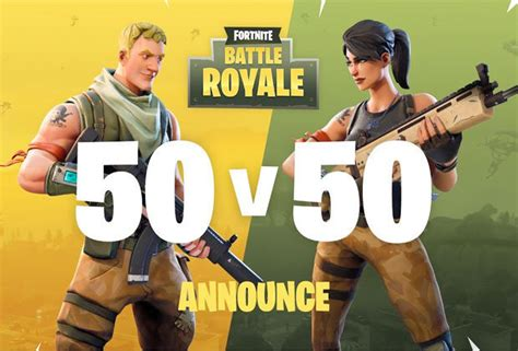 fortnite new mode fortnite battle royale update new mode 50 50 trailer