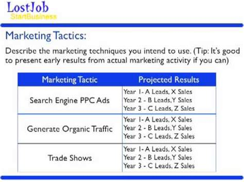 6 month marketing plan template how to write a business plan in 6 minutes template
