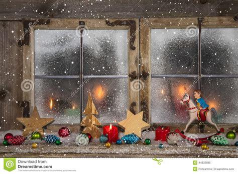 Dekorierte Fenster Weihnachten by Decoration Candles Candlelight